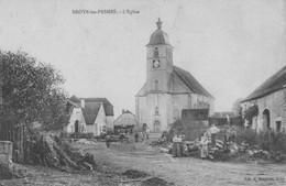 BROYE-les-PESMES (Haute-Saône) - L'église. Edition Bergeret. 2 Scan - Sonstige Gemeinden