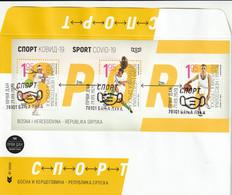 Bosnia I Herzegovina 2020 Sport COVID-19 FDC - Bosnia Herzegovina