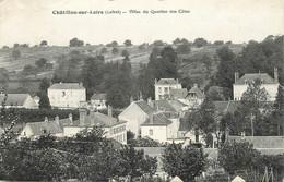"""CPA FRANCE 45  """"Chatillon Sur Loire, Villas Du Quartier Des Côtes"""" - Chatillon Sur Loire"""