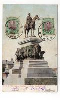 BULGARIE - SOFIA  (Statue De L'Empereur Alexandre III) - 1907 (A38) - Bulgaria