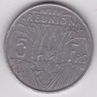ILE DE LA REUNION. 5 FRANCS 1955. ALUMINIUM - Reunion