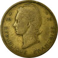Monnaie, French West Africa, 25 Francs, 1956, Paris, TB+, Aluminum-Bronze, KM:7 - Ivory Coast