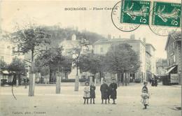 Daguin Jumelle BOURGOIN 1910 SUR TYPE SEMEUSE 158 - Annullamenti Meccaniche (Varie)