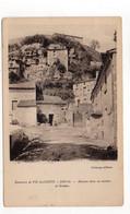 63 - ENVAL - Maisons Dans Les Rochers Et Grottes (A48) - Otros Municipios
