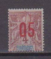 GUADELOUPE        N°  YVERT  72    NEUF AVEC CHARNIERES      (CHAR   01/47) - Ongebruikt