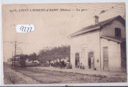 SAINT-LAURENT-D AGNY- LA GARE- LE TRAIN - Other Municipalities