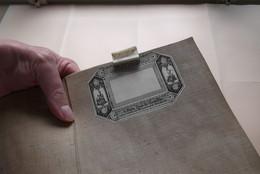 ESPAGNE Et PORTUGAL Partie SUD EST Gravée Richard WAHL Carte Itinéraire 1823 (Katoen / Cotton - Ch. Picquet) 92 X 68 Cm. - Europe
