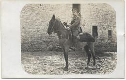 ARMEE BELGE : Cavalier Belge Originaire De Vieuxville - 1919 - Personaggi