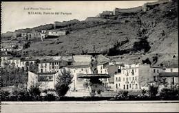 CPA Málaga Andalusien Spanien, Fuente Del Parque - Sonstige