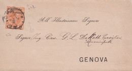 1891 VALEVOLE PER LE STAMPE C.2/ Lire 1,25 Su Sopracoperta Verona (7.8) - Marcofilía