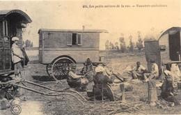 Editions Grand Bazar Tours N'404 - Les Petits Métiers De La Rue - Vanniers Ambulants - Cecodi N'1322 - Tours