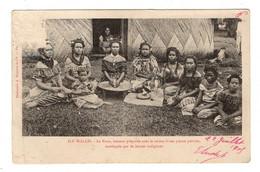WALLIS Et FUTUNA - Le Kava, Boisson Préparée.... Pionnière - Wallis Et Futuna