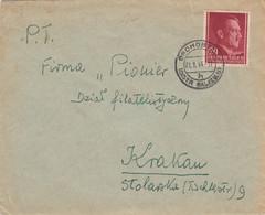 GG: Drohobycz/Galizien 21.01.1944 Nach Krakau - Occupation 1938-45