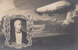 1908: Ansichtskarte Graf Zeppelin - Lettere