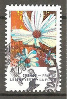 FRANCE 2020 Y T N ° 1855 Oblitéré CACHET ROND    COSMOS - Adhesive Stamps