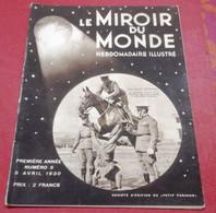 Le Miroir Du Monde N°5 Avril 1930 Paramount Maurice Chevalier Harold Lloyd,Légion Etrangère,Fascisme Lombards Mussolini - 1900 - 1949