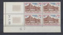 ST-GERMAIN En LAYE N° 1501 - BLOC De 4 COIN DATE - NEUF SANS CHARNIERE - 24/5/69  2 Traits - 1960-1969