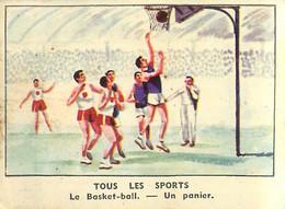IMAGE CHOCOLAT DE L'UNION LE BASKET BALL - Sonstige