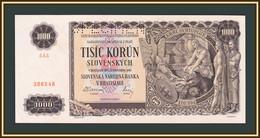 Slovakia 1000 Crowns 1940 P-13 (13s) UNC - Slovakia