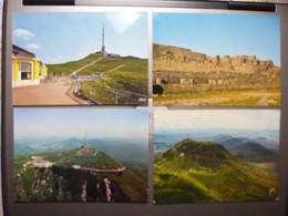 9 Cartes Modernes Du Sommet Du Puy De Dome - Ohne Zuordnung