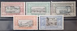 ITALY / ITALIA 1923 - MLH - Sc# 165-169 - Manzoni - Nuevos