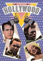 & Illustrateur Illustration Par Dan Benesh Hollywood Marilyn Monroe Clint Eastwood Brando Marlon Acteur Cinema CPM - Autres Illustrateurs