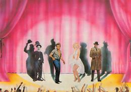 & Illustrateur Illustration Par Bruno Nugeron B.C.D Et M Marilyn Monroe Charlot James Dean Humphrey Bogart Cinéma Acteur - Autres Illustrateurs