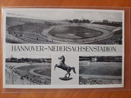 Hannover Niedersachsen Stadium Cartolina Stadio Postcard Stadion AK Carte Postale Stade Estadio - Calcio