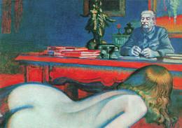 & Illustrateur Illustration Par Cyril Arnstam Staline De 5 à 7 CPM Femme Nue Fesses Fesse Pinup Pin Up Sexy - Andere Zeichner