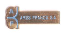 P162 Pin's AMES FRANCE SA à SAINT-NABORD Vosges Achat Immédiat - Army