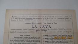 LA JAVA / 1922 / Comment On La Danse / Par M.A. PETER'S - Sport