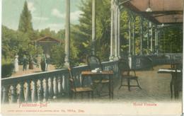 Faulensee-Bad 1910; Hotel Victoria - Gelaufen. (H. Guggenheim & Co. - Zürich) - BE Berne