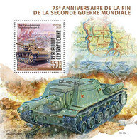 2020-07- CENTRAL AFRICAIN REP- ENDING OF WWII   II   1V      MNH** - WW2
