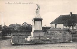 Saint St Vallier Canton Montceau Les Mines Monument Aux Morts Cliché Mosquetty - Altri Comuni