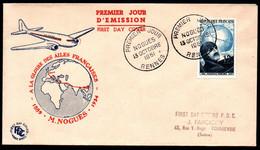 FDC - FRANCE 1951 - YT N° 907 - Cote: 65,00 € - 1950-1959