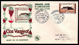 FDC - FRANCE 1951 - YT N° 913 - Cote: 38,00 € - 1950-1959