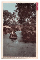 Saint-Hilaire-la-Palud - Une Route D'eau - édit. Laidin  + Verso - Other Municipalities