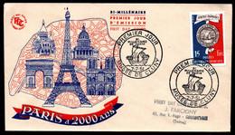 FDC - FRANCE 1951 - YT N° 906 - Cote: 40,00 € - 1950-1959