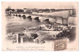 Bayonne - Le Pont Saint-Esprit Et Le Port - édit. ND Neurdein 19 + Verso - Bayonne