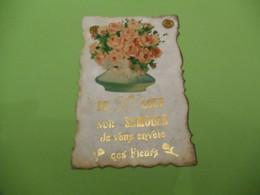 CP 70  -  De Saint-Loup-sur-Semouse , Je Vous Envoie Ces Fleurs - Altri Comuni