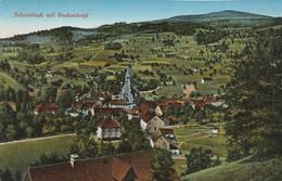 CARTE POSTALE ORIGINALE ANCIENNE : SCHNIERLACH MIT BUCHENKOPF HAUT RHIN (68) - Autres Communes