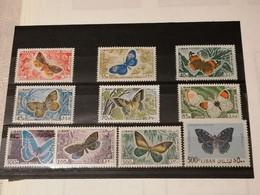 Liban Lebanon Papillons Butterflies/ YT PA332/341   MNH XX - Butterflies