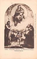 """10886 """"ROMA-PINACOTECA VATICANA-LA MADONNA DI FOLIGNO-RAFFAELLO SANZIO"""" VERA FOTO-CART NON SPED - Museums"""