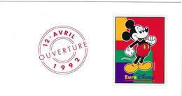 EURO DISNEY Ouverture Le 12/04/1992 6 Vignettes Disney ( Voir Détail ) - Sonstige