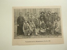 """Origineel Knipsel ( 9463 ) Uit Tijdschrift """"  Ons Volk Ontwaakt  """" 1919 :    Hoogstraeten  Hoogstraten   Zouaven Zouaaf - Non Classificati"""