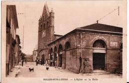 SALLES SUR L'HERS-L'EGLISE ET LA HALLE - Other Municipalities