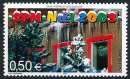 ST-PIERRE ET MIQUELON 2003 - Yv. 809 **   Faciale= 0,50 EUR - Noël. Sapins Enneigés  ..Réf.SPM12351 - Unused Stamps