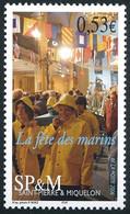 ST-PIERRE ET MIQUELON 2006 - Yv. 861 **   Faciale= 0,53 EUR - Fête Des Marins, Procession  ..Réf.SPM12408 - Neufs