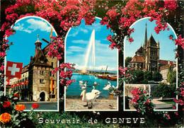 CPSM Genève-Multivues    L92 - GE Genève
