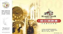 Chine Carte Postale, Entier Postal, Thème Bière, Beer, Bier. Harbin Beer. Ganzsachen - Biere